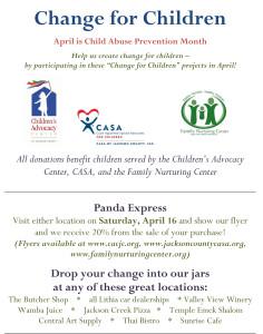 Change for Children full project flyer 2016 - April 11