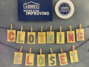 Lowes Clothing Closet